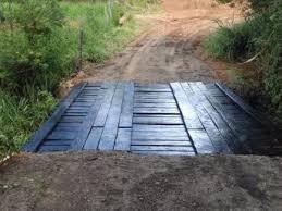 Prefeitura reforma ponte no Bairro São Roque do Pico
