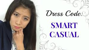 dress code smart casual lookbook aforalyce