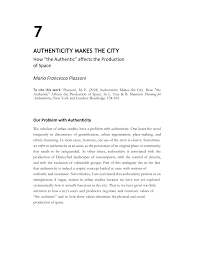 "(PDF) <b>Authenticity</b> makes the city: How ""the <b>authentic</b>"" affects the ..."