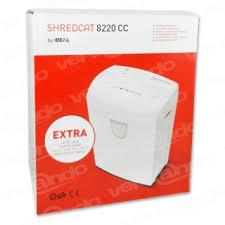 Shredder <b>Ideal shredcat 8220 CC</b> Security Level P-4, 4 x 40 mm ...