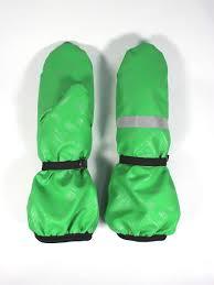 Рукавицы <b>детские</b>, <b>непромокаемые</b>, цвет зеленый <b>DUCK DUCK</b> ...