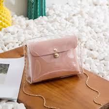 <b>2019</b> new transparent women's bag <b>chain</b> bag fashion <b>personality</b> ...
