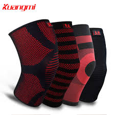 <b>Kuangmi 1</b> PC Knitted Knee Pad Elastic Knee <b>Brace</b> Compression ...
