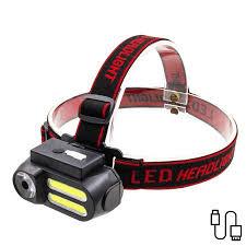 <b>LED Headlight USB</b> Rechargeable Portable Headlamp <b>Multi</b> ...
