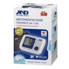 <b>Тонометр</b> AND <b>UA</b>-<b>1100</b>, с адаптером и стандартной манжетой ...