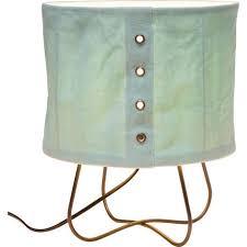 <b>Лампа настольная Rivet</b> голубого цвета — купить по цене 6120 ...