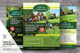 lawn landscaping flyer templates flyer templates on creative lawn landscaping flyer templates flyer templates on creative market
