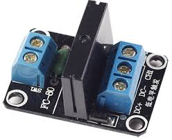<b>1 Channel 5V</b> Solid State Relay Module - Wiki