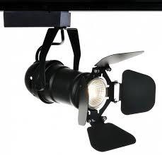 Трековый <b>светильник Arte Lamp A5319PL</b>-1BK TRACK LIGHTS