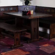 hardware dining table exclusive: santa fe dark chocolate rectangular dining table