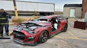 <b>Ford Mustang</b> Shelby GT500 dissected by the Dearborn Fire ...