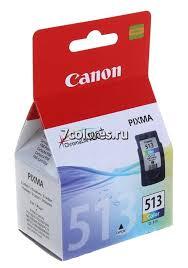 <b>Картридж Canon CL-513</b> Color. Ресурс 350 стр., объем 13 мл ...