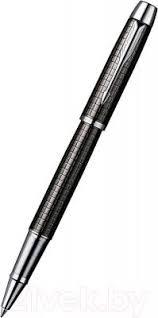 <b>Parker</b> IM Premium Dark Grey Chiselled <b>S0908700 Ручка</b>-<b>роллер</b> ...