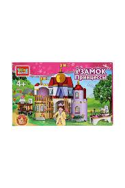 <b>Замок</b> принцессы с фигурками <b>Город мастеров</b> арт BL-2071-R ...