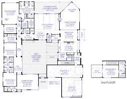 Luxury Modern Courtyard House Plan   custom   Contemporary    Luxury Modern Courtyard Floorplan