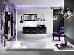 f awesome bathroom decorating ideas with chrome polished balls pendant lamps and floating black painted washing stand under rectangle framed wall mirror awesome black painted