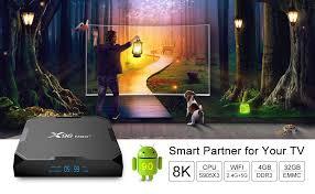 X96 Max+ Android TV Box 9.0 Amlogic S905X3 4GB ... - Amazon.com
