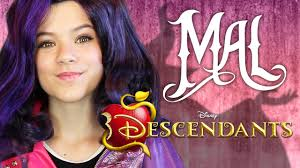 disney descendants mal makeup tutorial kittiesmama
