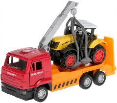 <b>Набор моделей</b> Камаз Эвакуатор и Трактор <b>Технопарк</b> — купить ...