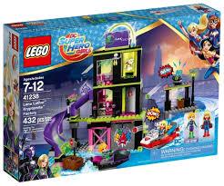 <b>Конструктор LEGO</b> DC <b>Super</b> Hero Girls 41238 Фабрика ...