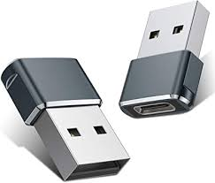 <b>USB C Female to</b> USB Male Adapter (2 Pack),Type C to USB A ...