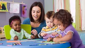 Image result for parents talking to baby teacher