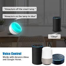 AUGIENB <b>Smart LED</b> Desk Table Lamp <b>Night Light</b> Voice WiFi APP ...