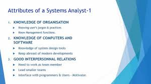 role of systems analyst role of systems analyst
