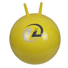 <b>Мяч</b>-<b>попрыгун Z-Sports BB-004</b>-45 с рожками (45см, желтый ...
