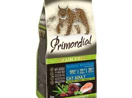 <b>Корм</b> для кошек <b>Primordial</b> Adult Cat Holistic Salmon Tuna <b>Grain</b> Free