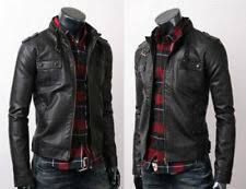 <b>Men's Leather</b> Coats and Jackets for sale | eBay