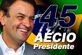 Aécio Presidente 45