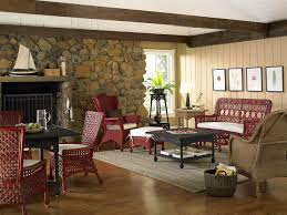 Lodge Living Room Decor Lake House Style Lodge Style The Distinctive Cottage