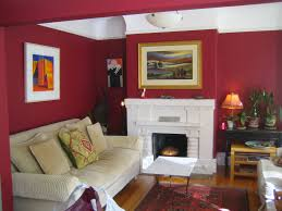 room paint red: red color paint for living room studio