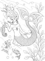 Small Picture 936 best Adult ColouringUnder the Sea FishMermaidsShells