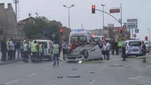 Eyüp'te kaza: 1 ölü 1 yaralı