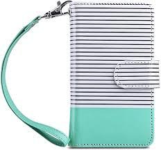 ULAK <b>Flip</b> Wallet Case for iPhone SE/5S/5, <b>Fashion PU</b>