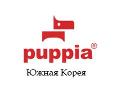 PUPPIA <b>Миска</b> для собак <b>складная</b>, квадратная, сине-зелёная