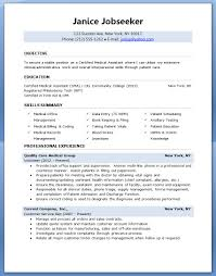 resume template for medical assistant medical assistant job resume sample resume template for medical assistant 5300