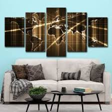 <b>Modern Canvas</b> HD Prints Poster Office Wall Art Abstract Pictures ...