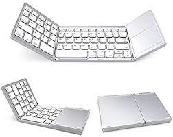 white <b>Folding Bluetooth Keyboard</b>,Leevin <b>New</b> Generation Mini Ultra ...