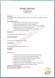 pastry chef resume info pastry chef resume example 10