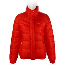 Женский красный пуховик Reebok <b>Cl</b> Heritage W <b>Down Jacket</b> ...