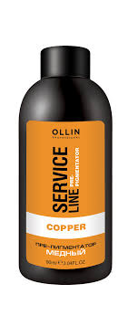 <b>OLLIN PROFESSIONAL</b> Флюид-препигментатор, медный / Copper ...