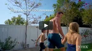 <b>Intex Prism Frame Oval</b> Pool Set Intex on Vimeo