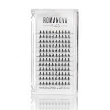 <b>Romanovamakeup Пучки</b> ресниц M <b>M</b>-<b>Short</b> 8 мм - Купить в ...