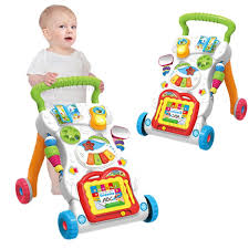 <b>Multi</b>-<b>function Baby Walker</b> Toddler <b>Trolley</b> Sit-to-Stand ABS Musical ...