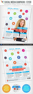 social media campaign advertising flyer by vinirama graphicriver social media campaign advertising flyer corporate flyers