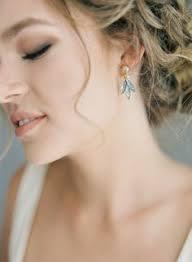 Gold Earrings, Dangle Earrings, Bridal Earrings, Gold Wedding ...