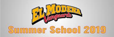 <b>Summer</b> School <b>2019</b> - El Modena <b>High</b> School